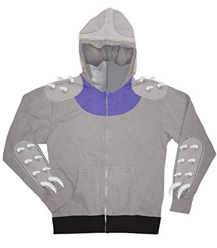 TMNT Teenage Mutant Ninja Turtles Shredder Zip-Up Hoodie Sweatshirt
