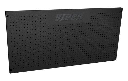 Viper Tool Storage V2448PBB 24-Inch by 48-Inch 18G Steel Peg Board, Black