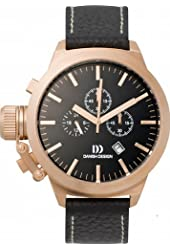 Danish Designs Men's IQ17Q712 Stainless Steel Rose Gold Ion Plated Watch