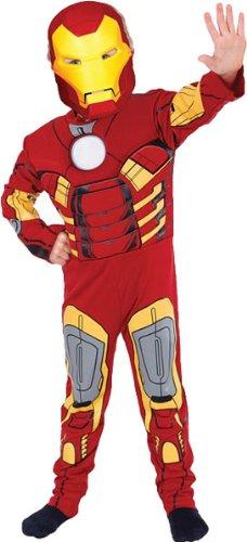 Iron Man Muskel Brust Kostüm Größe