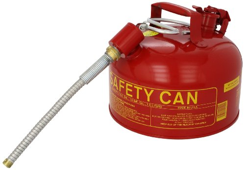 Eagle U2-26-SX5 Type II Metal Safety Can, Flammables, 11-1/4