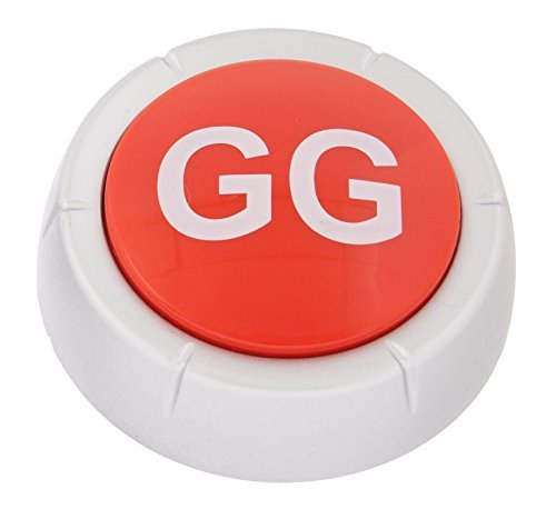Upgraded Good Game Button with LED - 5 Year Anniversary Edition - Batteries Included