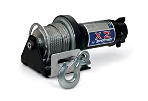 Superwinch 1201 X2 12VDC winch; rated line pull of 3,000 lb/1363 kg
