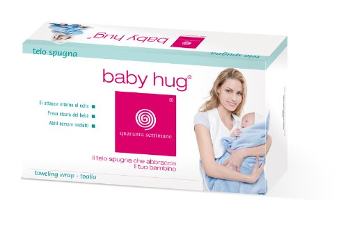 Babyhug Wrap Bath Towel (Blue)