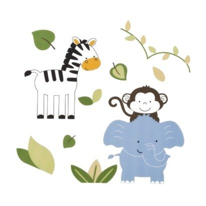 Tiddliwinks Safari Friends Collection (Wall Decals) - 1