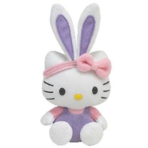 Ty Basket Beanie - Hello Kitty Purple