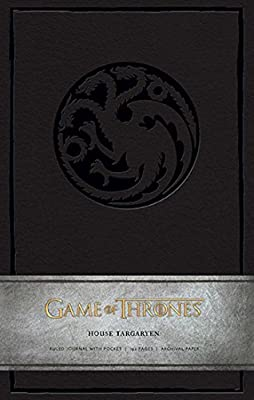 Game of Thrones Ruled Journal: House of Targaryen