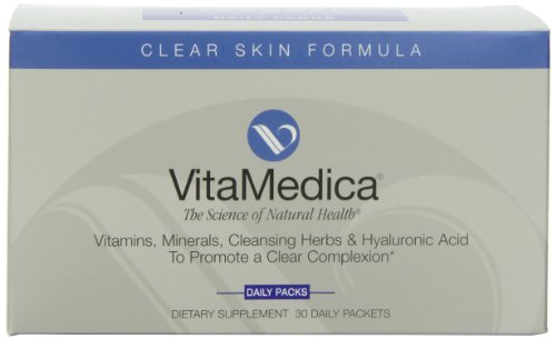 Vitamedica Clear Skin Formula Daily Supplements Packets, 30-Count Reviews