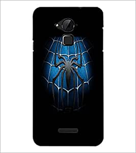 PrintDhaba Spider D-2141 Back Case Cover for COOLPAD NOTE 3 LITE (Multi-Coloured)