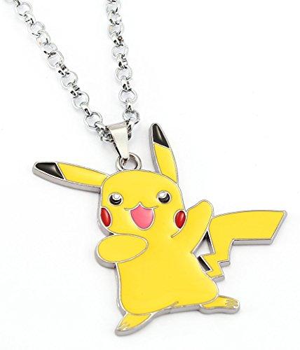 BSBL Collana del pendente del fumetto Pokemon Pikachu Animazione Squirtle Bulbasaur Vaporeon Pokeball Accessori