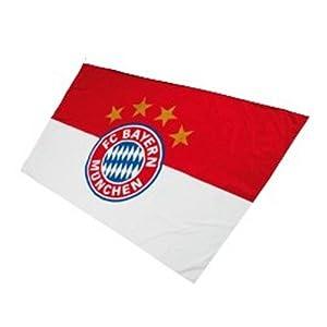 Amazon.com : Bayern Munich Flag Logo 250 x 150 cm : Sports