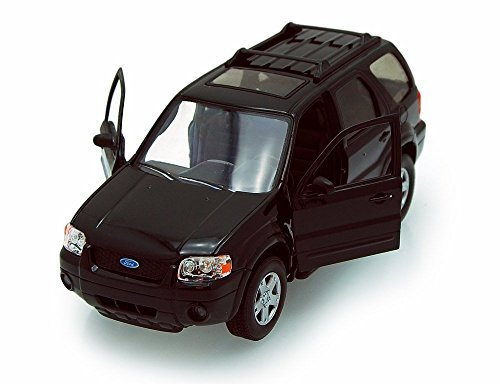 2005-ford-escape-suv-black-welly-22463s-1-24-scale-diecast-model-toy-car-by-welly