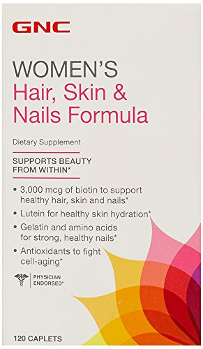 GNC Women's Hair, Skin & Nails Formula 120 Cablets