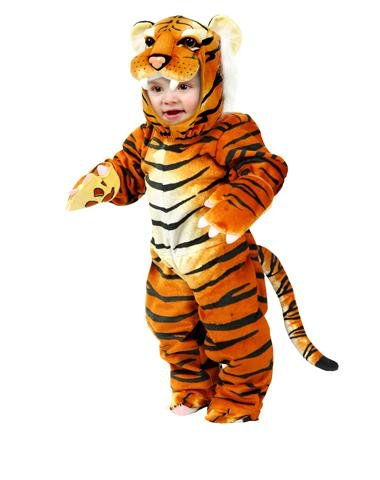 Charades Llc Unisex Child Little Tiger Toddler Costume