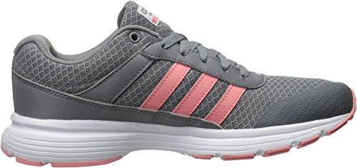 Adidas Performance Women's Cloudfoam VS City W Running Shoe, Grey/Ray Pink/White, 8.5 M US