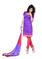 JHEENU Womens Other Unstitched Dress Material (Shb09 _Purple)...