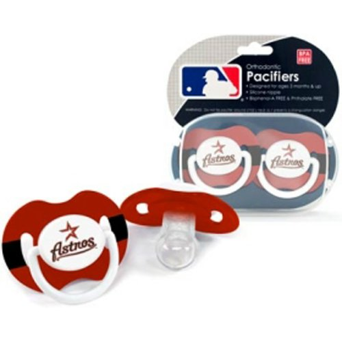 Usa Wholesaler - Csy-1279901263 - Houston Astros Mlb Baby Pacifiers front-1056693