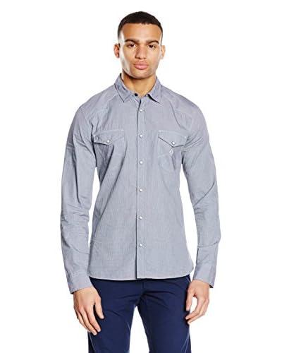 Chevignon Camisa Hombre Azul Marino