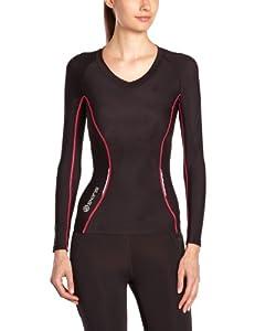 Skins Bio A200 Women's Manches Longues T-shirt Collant T-shirt Course à Pied - XL