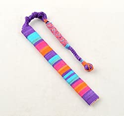 Purple Thread Bookmark