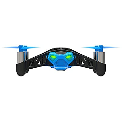 Parrot MiniDrone Rolling Spider - Blue Propellers by Parrot Inc.