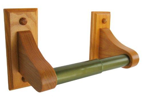 Repurpose Towel Rail Into Toilet Roll Holder