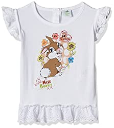 Disney Baby Girls' Blouse Shirt (TC 2852_White_18-24 Months)