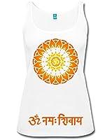 Spreadshirt Débardeur Mandala Om - Sanskrit pour Femme