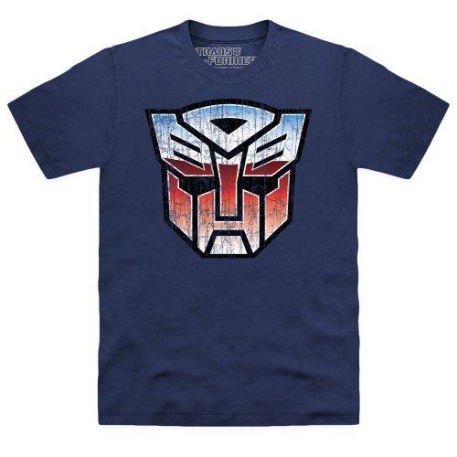 T Shirt Transformers Autobot Logo (Blu) - X-Large