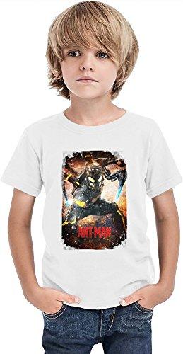 Ant Man Ragazzi T-shirt Stylish T-Shirt For Boys Fashion Fit Kids Printed Clothes By Slick Stuff 8/9 yrs
