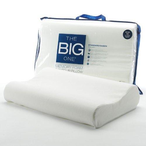 The Big One Memory Foam Contour Pillow - Standard/Queen front-246006