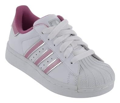 adidas superstar blanche et rose pale