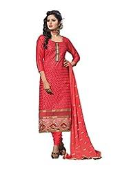 DivyaEmporio Women's Salwar Kameez Suit Dupatta Unstitched Dress Material (Free Size) - B00RXETUI4