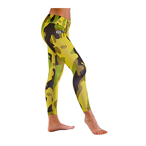 Billig Nessi Damen lange Leggings OSLK Laufhose Fitnesshose