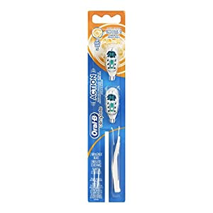 Oral-B Action Power Soft Replacement Brush Head, 2-Count