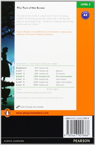 Penguin Readers 3: Turn of the Screw, The Book & MP3 Pack (Pearson English Graded Readers)