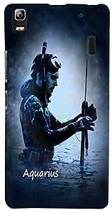 PrintVisa Zodiac Aquarius Case Cover for Lenovo A7000