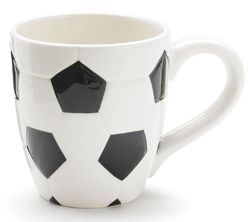 Ceramic 15 Oz Soccer Ball Coffee Mug Great Gift For Our Soccer Fans