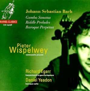 Johann Sebastian Bach:  Gamba Sonatas