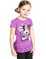 Pure Cotton Minnie Mouse Top