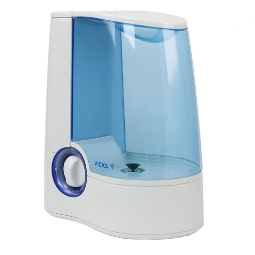 vicks warm mist humidifier with auto shut off single room ebay. Black Bedroom Furniture Sets. Home Design Ideas