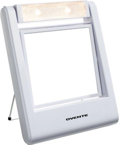 Ovente Mlt22W Dual-Sided Vanity Mirror, 1X/2X