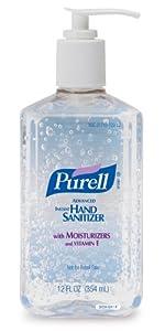 PURELL 3659-12 Advanced Instant Hand Sanitizer, 12 fl. oz. Pump Bottle (Case of 12)