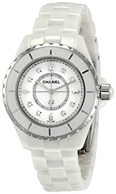 Chanel Women's H2422 J12 Diamond Dial Watch