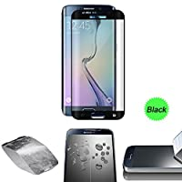 Galaxy S7 Edge Screen Protector, UTLK® 3D Curved Full Screen Coverage Premium Tempered Glass Screen Protector Film for Samsung Galaxy S7 Edge HD Clear by UTLK