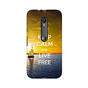 Mobicture Live Free Premium Printed Case For Moto X Force