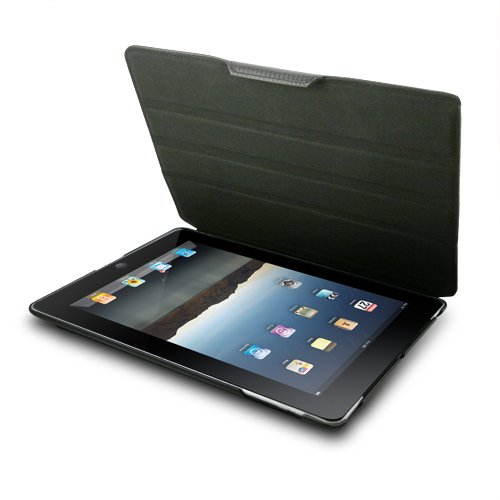 Unicase Houndstooth for iPad2 - Black