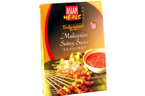 Malaysian Satay Sauce Mix (Twin Packs) - 5.6Oz (Pack Of 12)