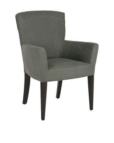 Safavieh Dale Arm Chair, Sea Mist