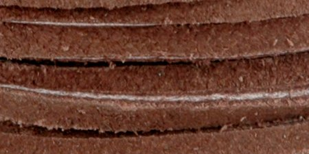 LEATHER FACTORY Suede Lace dark brown 25 yd. roll